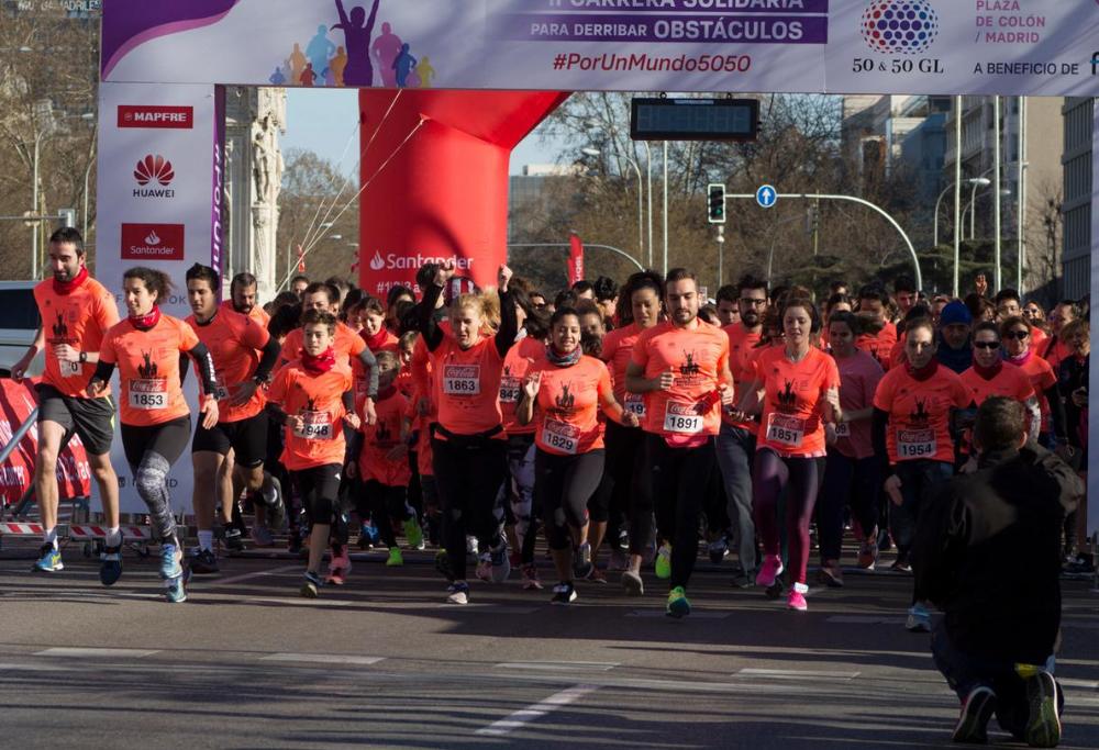 Evento en Madrid Carrera solidaria